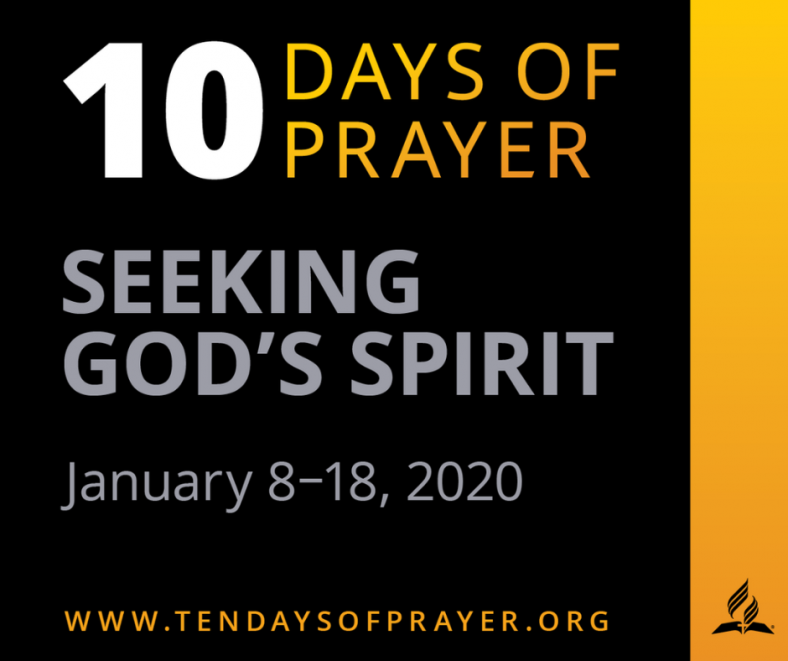 "- ""Seeking God's Spirit"". We plan to meet at different homes for about an hour in the evening between January 8 - 18, 2020 to sing, pray, and read the Scriptures. Please make plans to attend, to receive a blessing and to be a blessing! Acts 4:31."